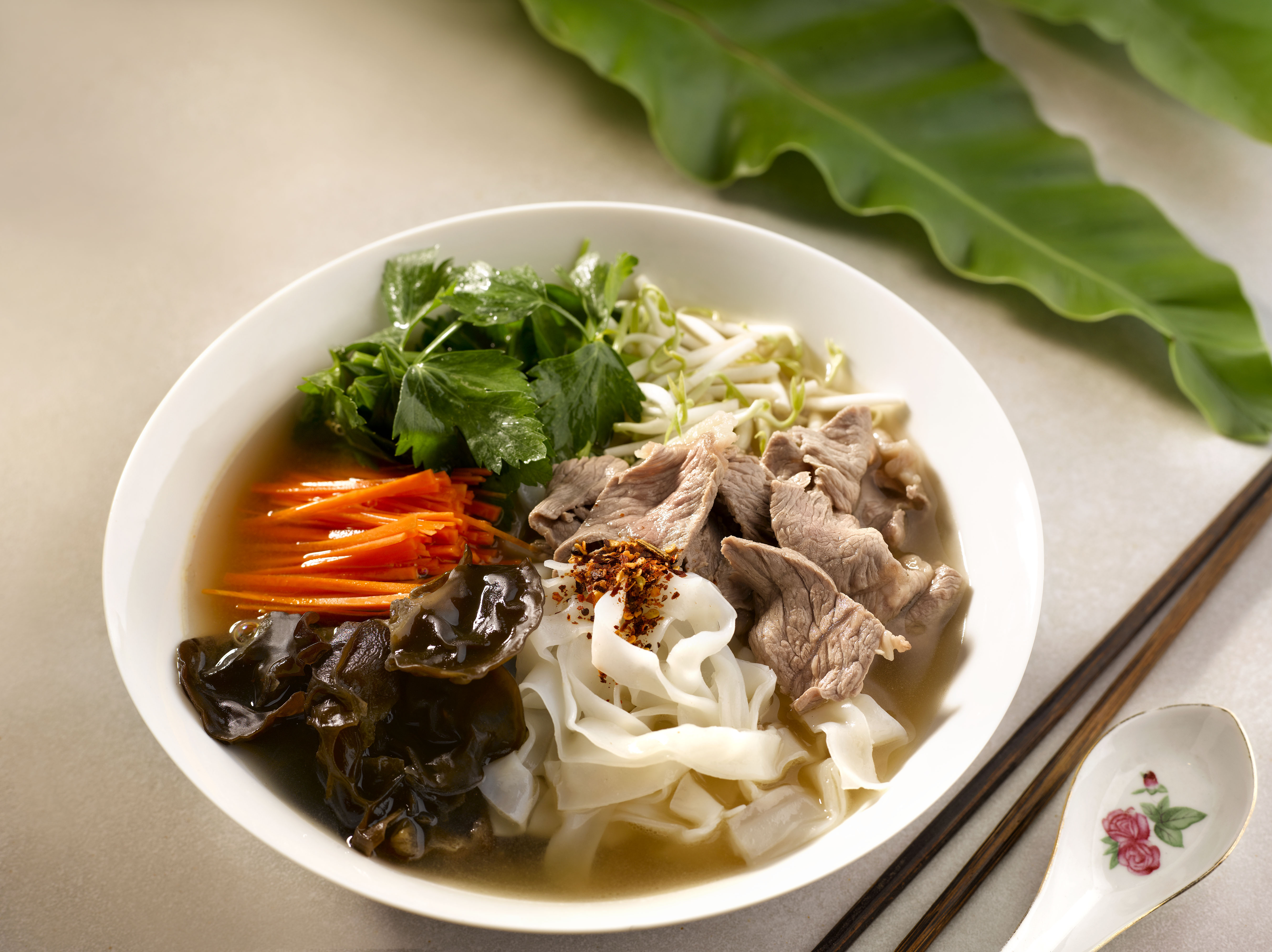 Chef Eric Teos Beef Kway Teow Soup